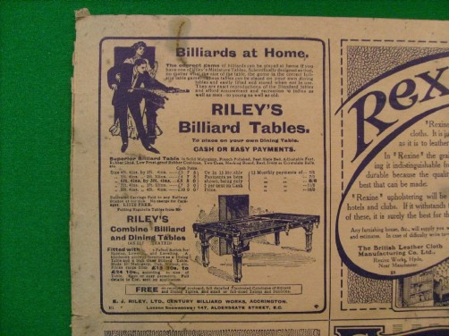 Advert Rileys