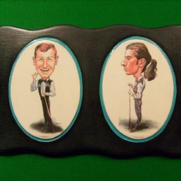 Steve Davis & Peter Ebdon