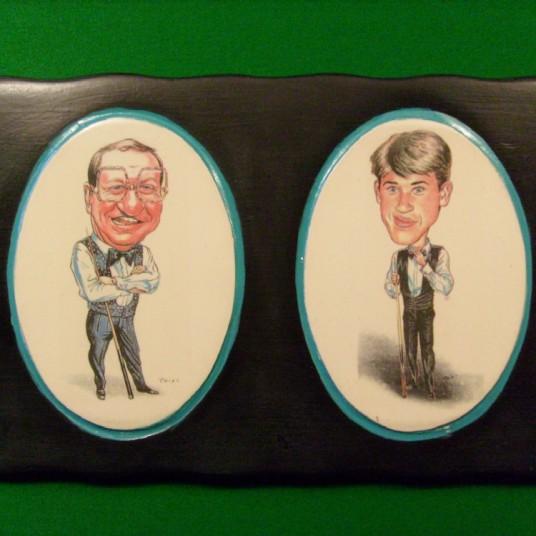 Denis Taylor & Stephen Hendry