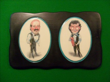 Willie Thorne & Jimmy White