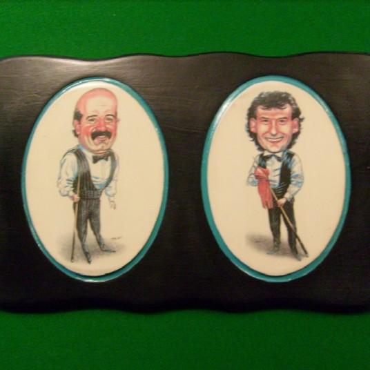 Willie Thorne & Jimmy White