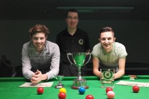 Bronze Waistcoat Snooker Championship Finalists 2014
