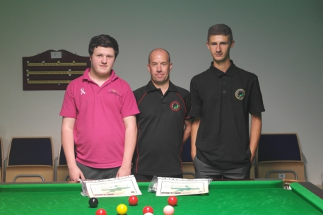 Bronze Waistcoat Snooker Championship Plate Finalists 2014