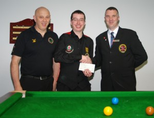 Fundraising Chris Coumbe World Billiards 2012