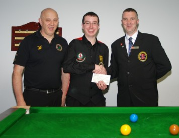 Fundraising Chris Coumbe World Billiards 2012