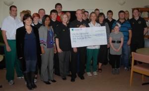 Fundraising Darren Hall Rehab Unit Oct 2011 2