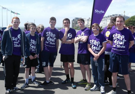 Fundraising Darren Hall Step Out For Strokes Jun 2014 1