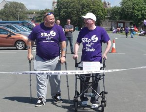Fundraising Darren Hall Step Out For Strokes Jun 2014 2