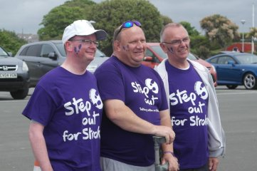 Fundraising Darren Hall Step Out For Strokes Jun 2014 5