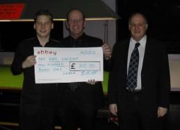 Fundraising Kris Vincent England Team 2005