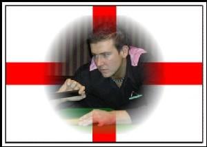 Fundraising Matt Williams England Flag 2007