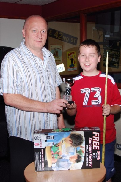 Fundraising Matt Williams Plate Winner 2007