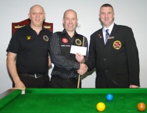 Fundraising Steve Brookshaw World Billiards 2012
