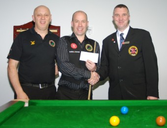 Fundraising Steve Brookshaw World Billiards 2012