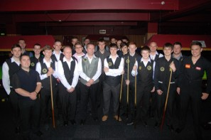 Gold Waistcoat Tour Event 1 Players 2012-13