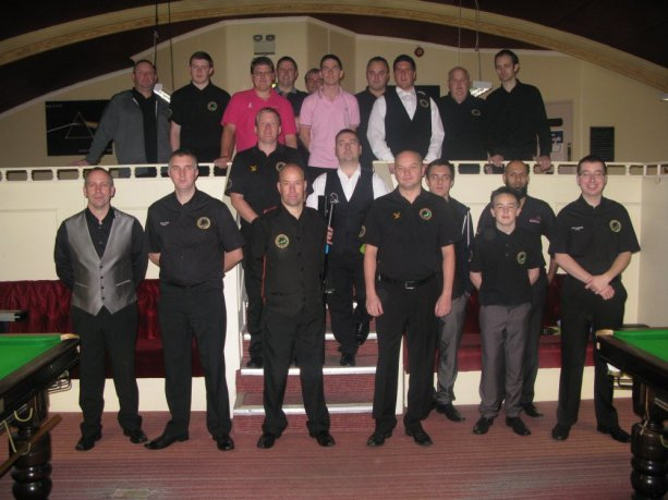 Gold Waistcoat Tour Event 1 Players 2013_14