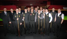 Gold Waistcoat Tour Event 2 Players 2012-13