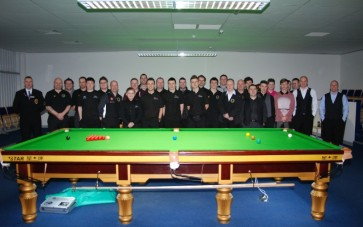 Gold Waistcoat Tour Event 3 Players 2012-13