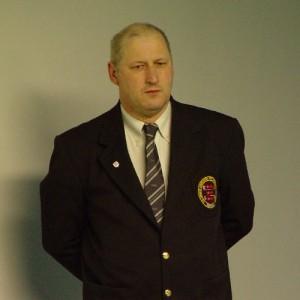 Referee Steve Clark