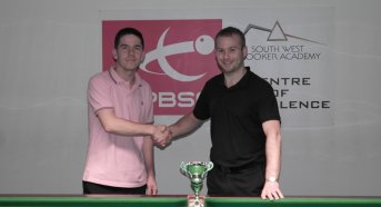 West of England Open Snooker Plate Finalists 2013