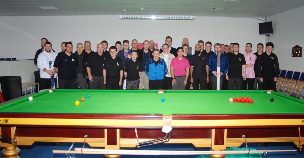 West of England Open Snooker Players 2013