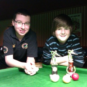 EABA U19 Billards Event 2 Finalist April 2011