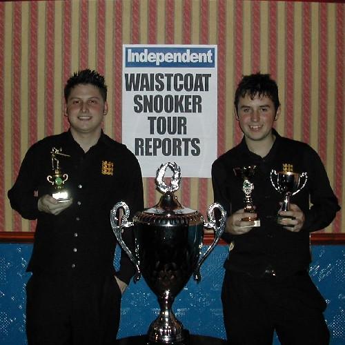 Gold Waistcoat Tour Event 1 Finalists 2006-7