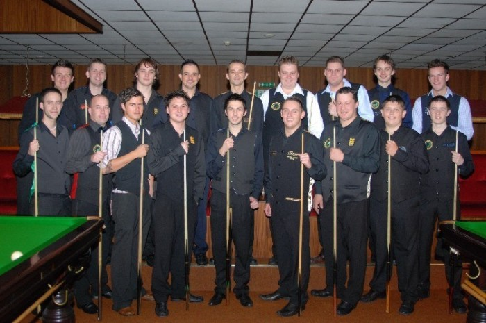 Gold Waistcoat Tour Event 1 Players 2007-8