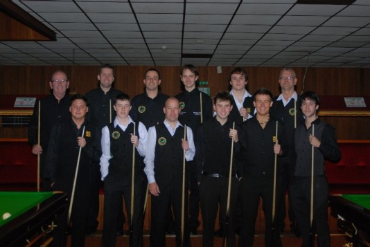 Gold Waistcoat Tour Event 1 Players 2008-9