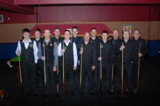 Gold Waistcoat Tour Event 1 Players 2009 10