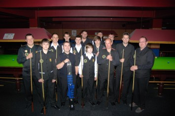 Gold Waistcoat Tour Event 1 Players 2010-11