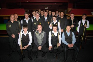 Gold Waistcoat Tour Event 1 Players 2011-12