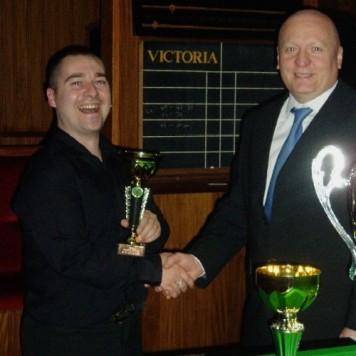 Gold Waistcoat Tour Event 1 Runner-up 2004-5