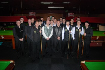 Gold Waistcoat Tour Event 2 Players 2010-11