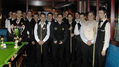 Gold Waistcoat Tour Event 2 Players 2005-6