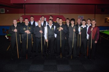 Gold Waistcoat Tour Event 2 Players 2008-9