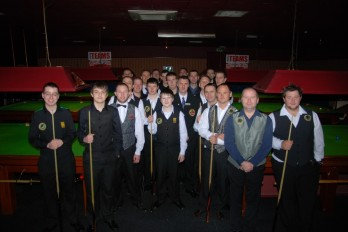 Gold Waistcoat Tour Event 2 Players 2011-12