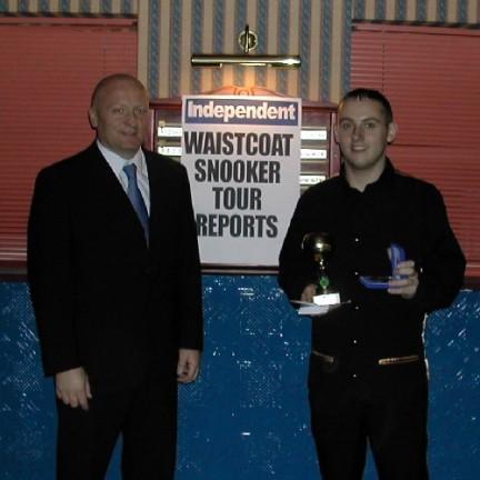 Gold Waistcoat Tour Event 2 Runner-up 2005-6