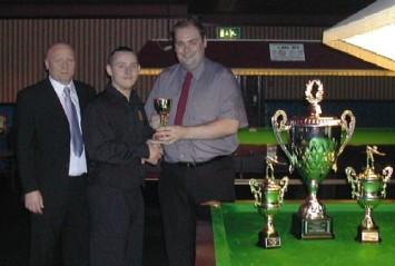 Gold Waistcoat Tour Event 2 Winner 2004-5