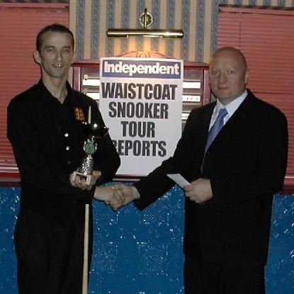 Gold Waistcoat Tour Event 2 Winner 2005-6