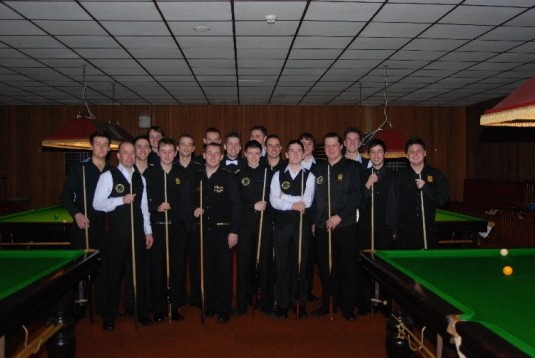 Gold Waistcoat Tour Event 3 Players 2007-8