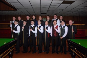 Gold Waistcoat Tour Event 3 Players 2008-9