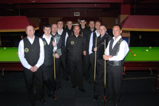 Gold Waistcoat Tour Event 3 Players 2010-11