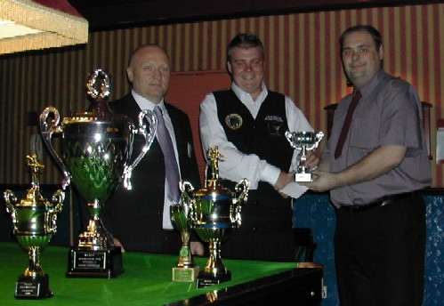 Gold Waistcoat Tour Event 3 Runner-up 2004-5