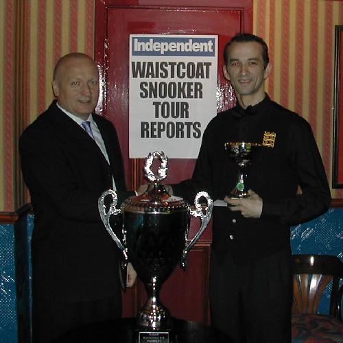 Gold Waistcoat Tour Event 3 Winner 2005-6