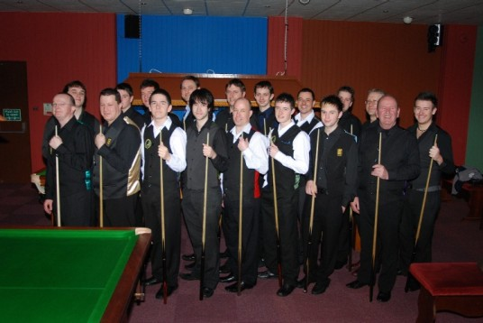 Gold Waistcoat Tour Event 4 Players 2008-9