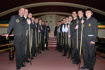 Gold Waistcoat Tour Event 4 Players 2009 10