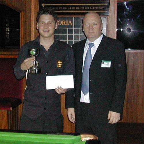 Gold Waistcoat Tour Event 4 Runner-up 2004-5