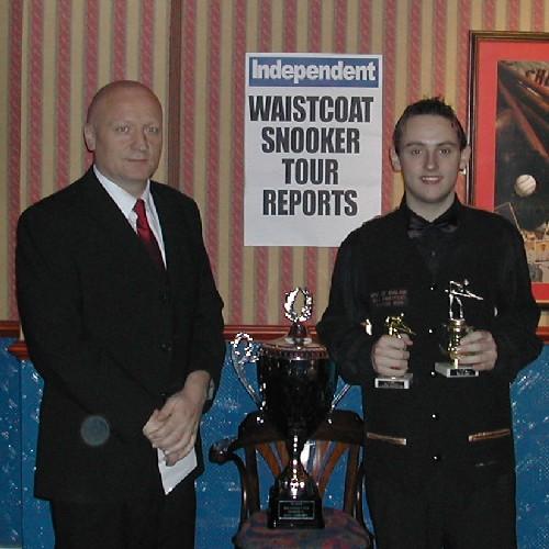 Gold Waistcoat Tour Event 4 Runner-up 2005-6