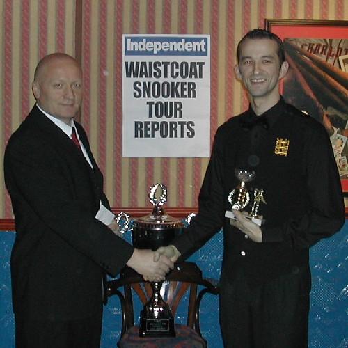 Gold Waistcoat Tour Event 4 Winner 2005-6